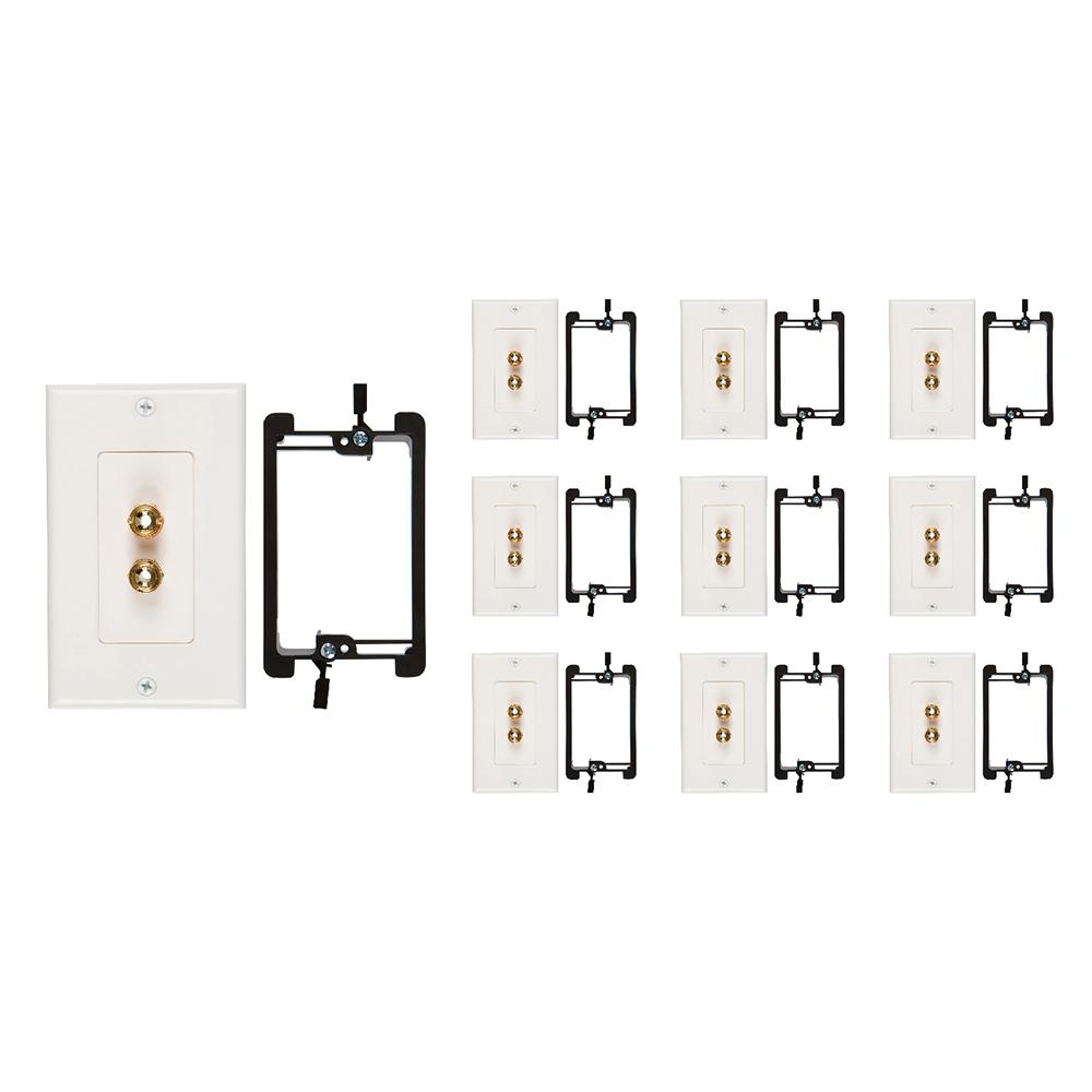 shop single speaker wall plates