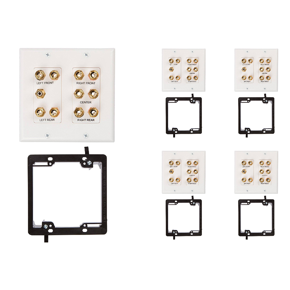 Buy 5 1 Speaker Wall Plate For Your Home Theater Buyer S