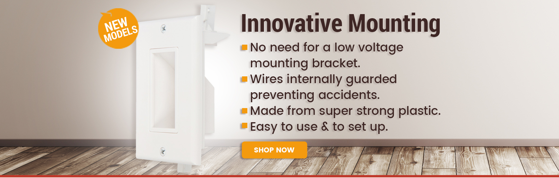 Innovative Mounting New Models recessed