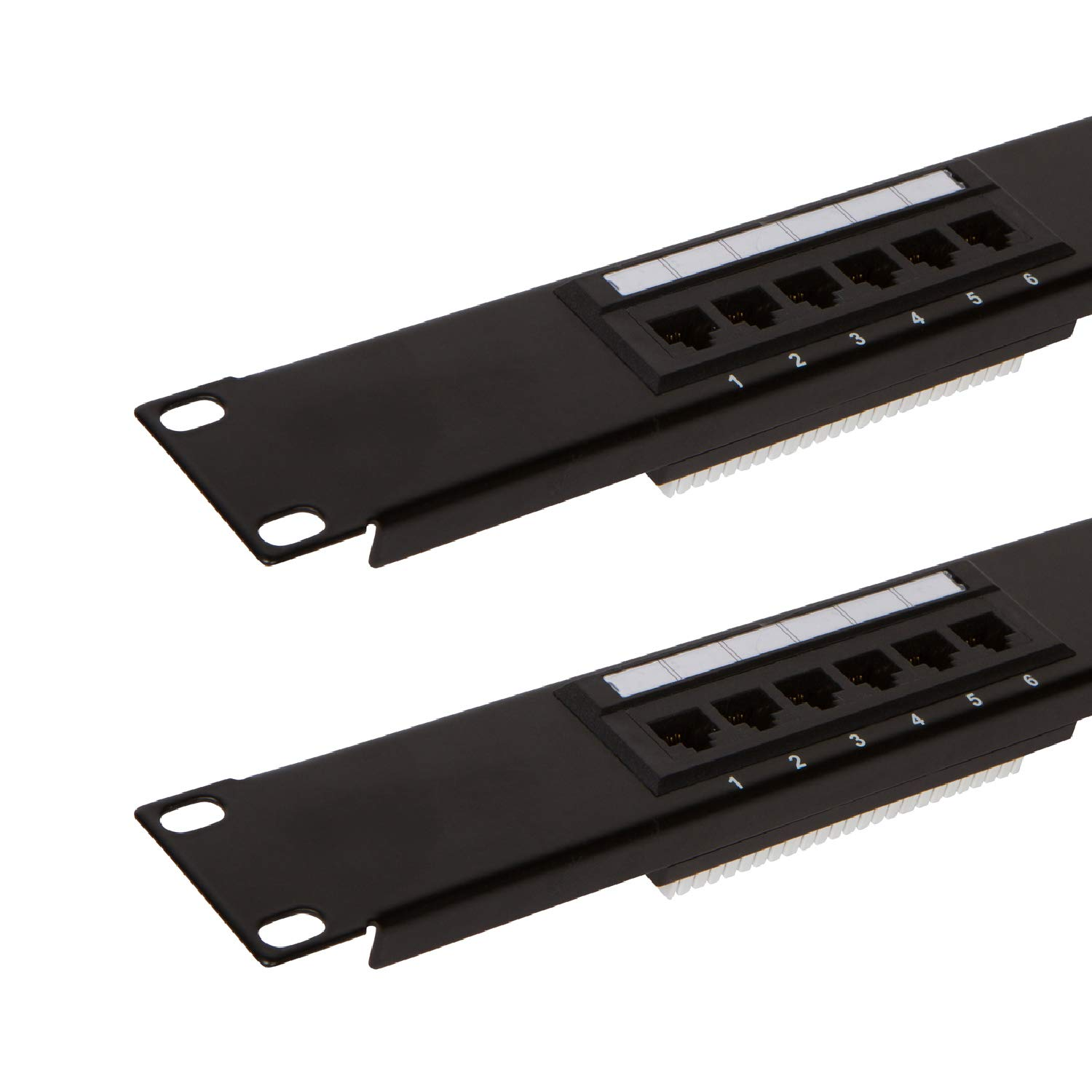 12 Port Cat6 Patch Panel With Punch Down Tool And Cable