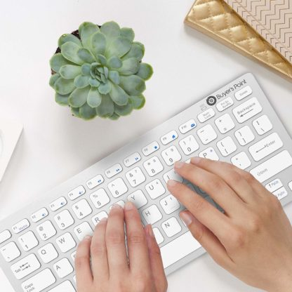 Keyboard and Mice Combo Plant and Typing