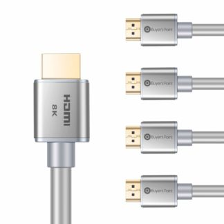 2019 NEW HDMI CABLE 6ft 2-Pack 8K Ultra High Speed HDMI 2.1 Version Support 2.0
